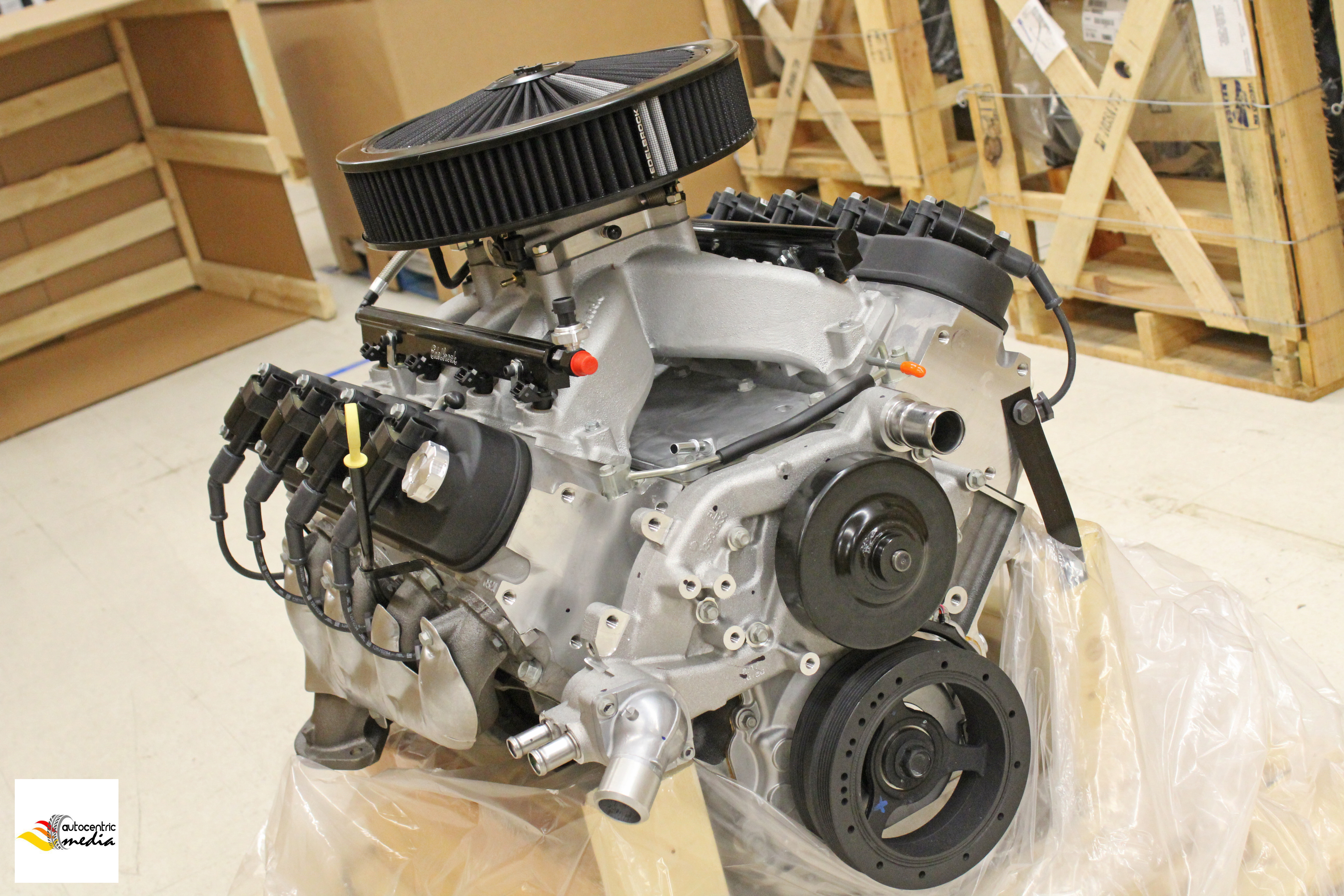Pace Performance LS3 495HP Crate Engine with Edelbrock PRO