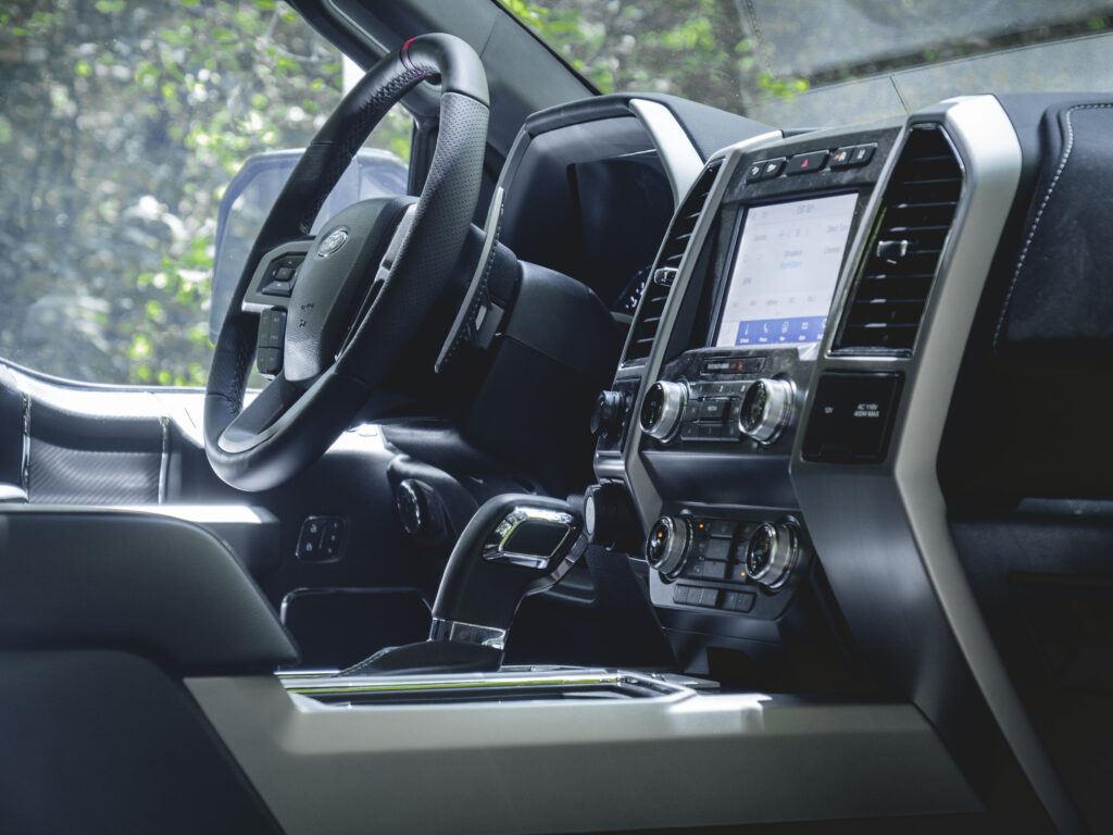 Mil-Spec-Supercharged-F-150-Interior-Front-Row